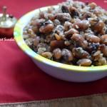Karamani Sweet Sundal - Navaratri Sundal