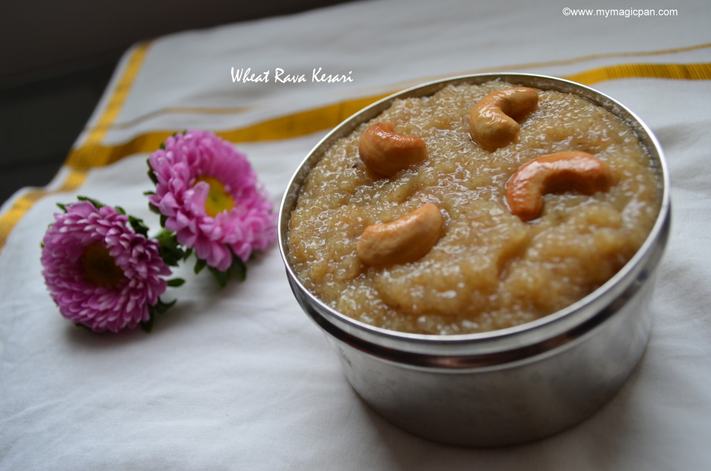 Wheat Rava Kesari