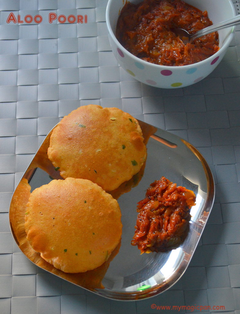 Aloo Poori My Magic Pan