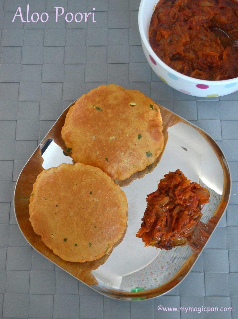 Aloo Poori My Magic Pan