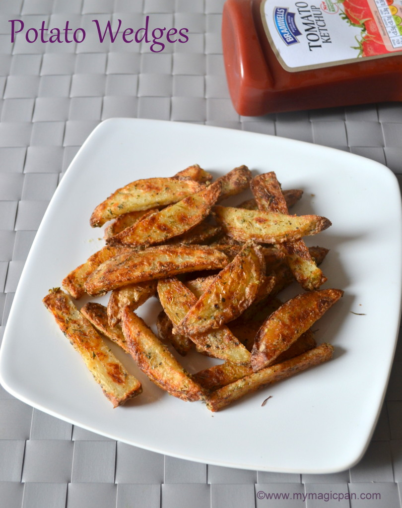 Baked Potato Wedges My Magic Pan