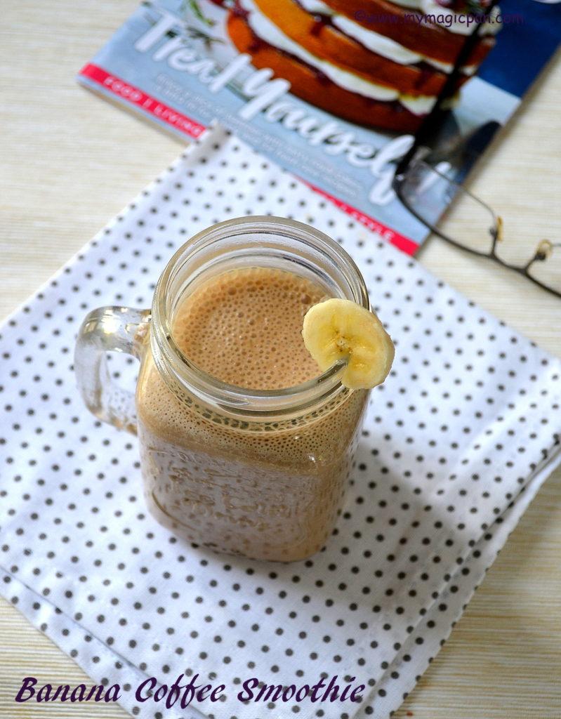 Banana Coffee Smoothie My Magic Pan