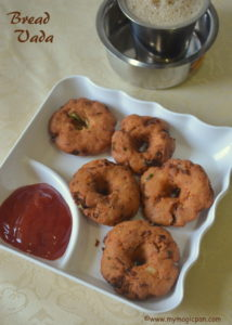 Bread Vada My Magic Pan