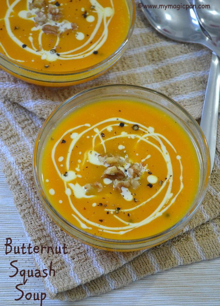 Butternut Squash Soup My Magic Pan