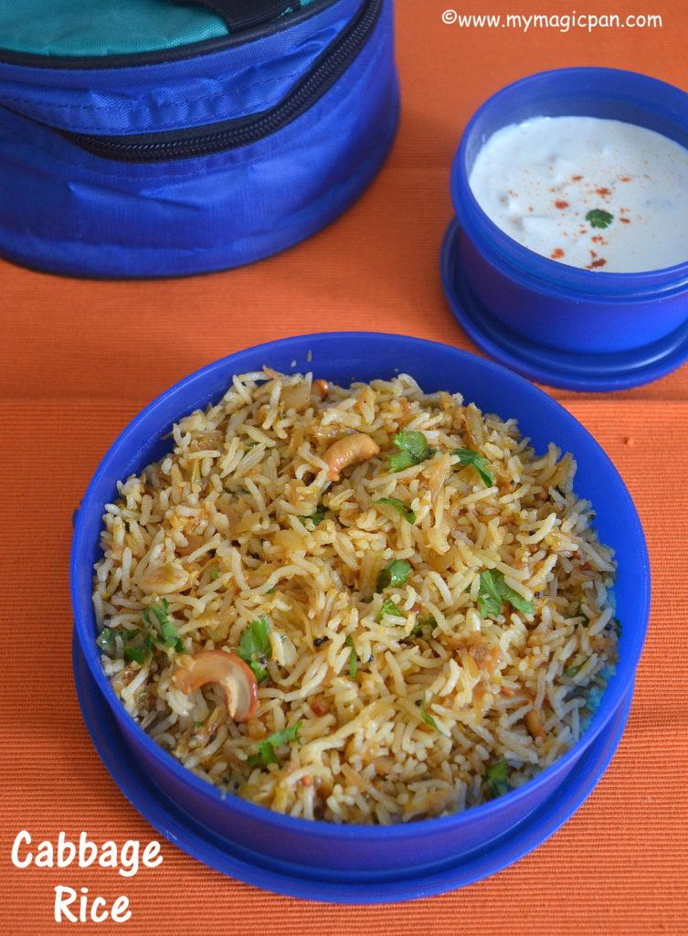 Cabbage Rice My Magic Pan