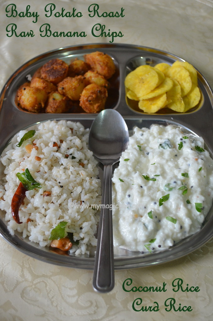 Variety Rice Lunch Menu My Magic Pan