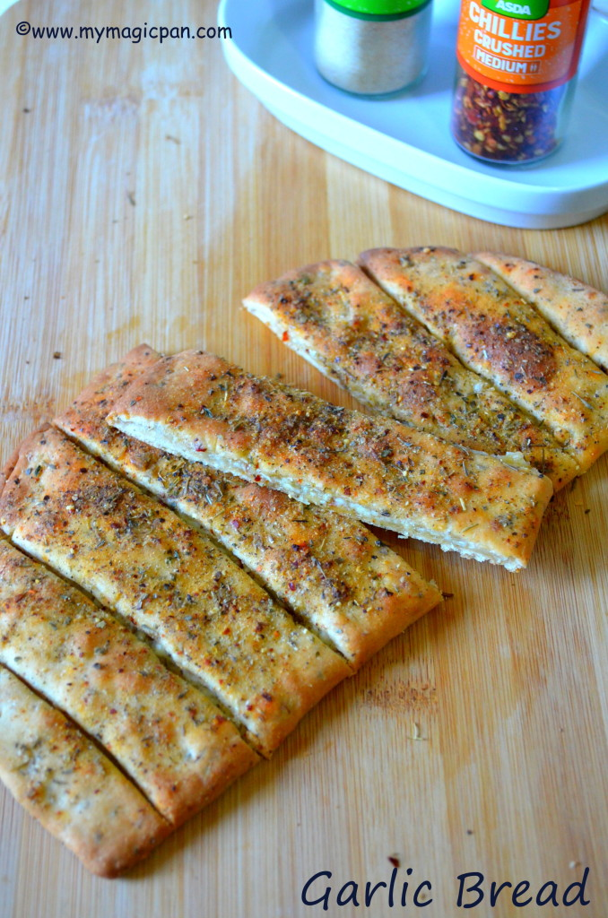 Garlic Bread Dominos Style My Magic Pan