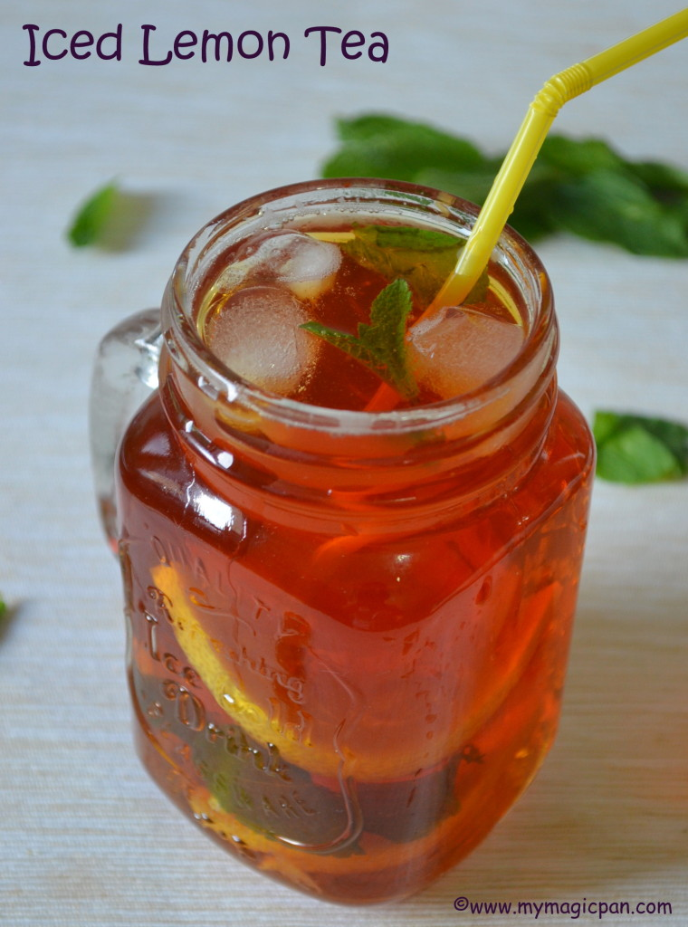 Iced Lemon Tea My Magic Pan