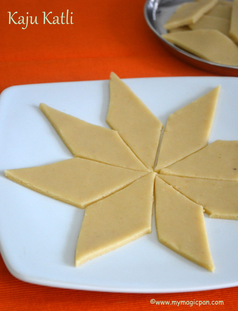Kaju Katli My Magic Pan