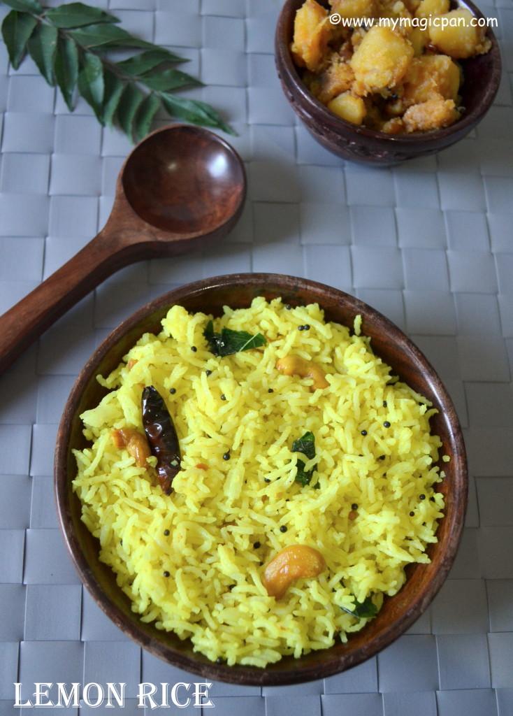 Lemon Rice My Magic Pan