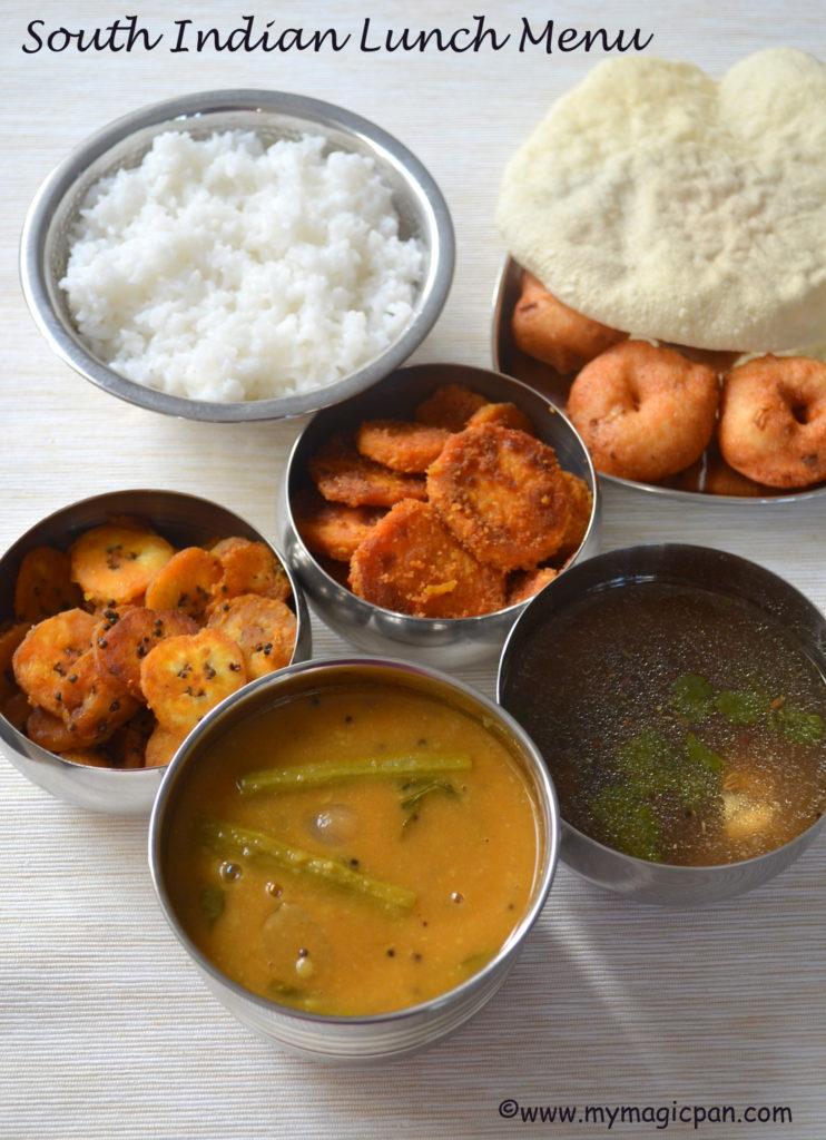 Lunch Menu Series My Magic Pan