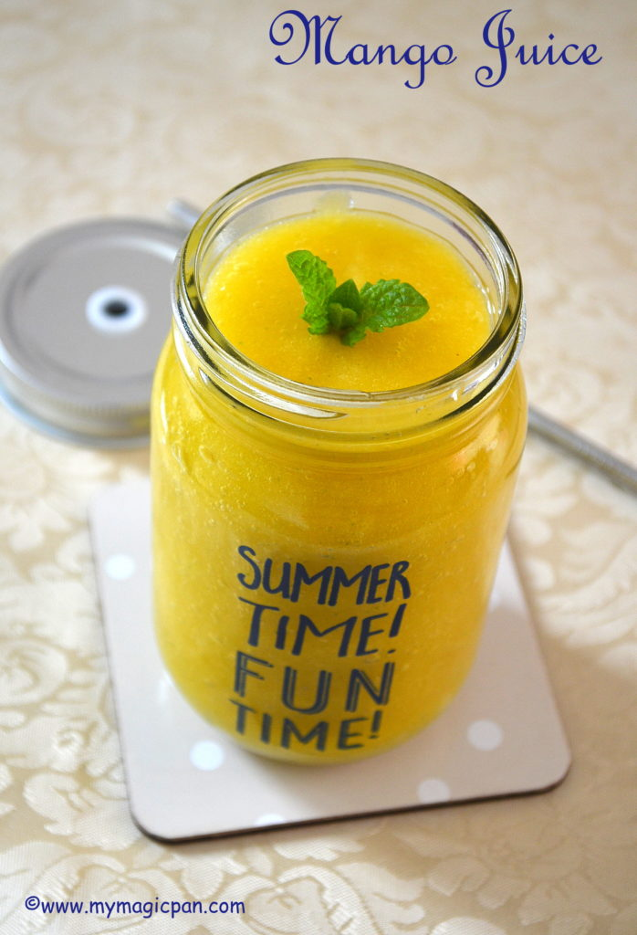 Mango Juice My Magic Pan