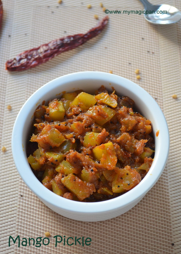 Mango Pickle My Magic Pan