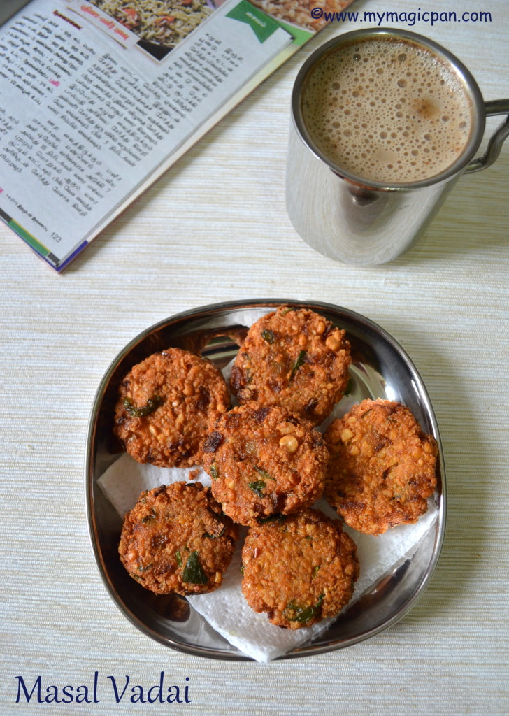 Masal Vadai My Magic Pan
