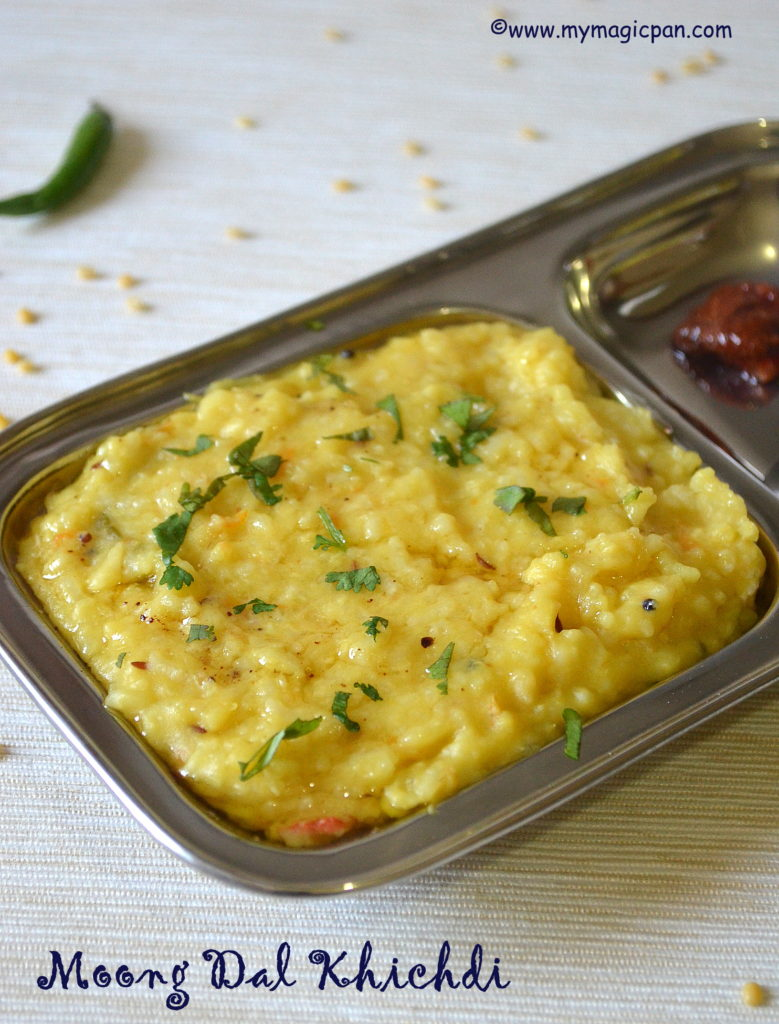 Moong Dal Khichdi My Magic Pan