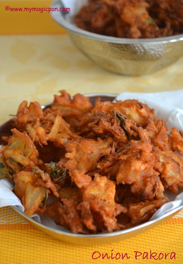 Onion Pakoda My Magic Pan