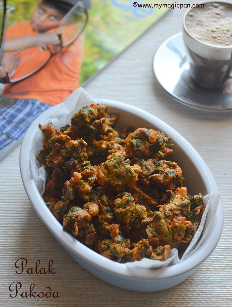 Palak Pakoda My Magic Pan