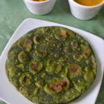 Palak Paratha - Spinach Paratha