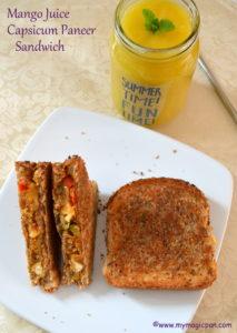 Sandwich Lunch Menu