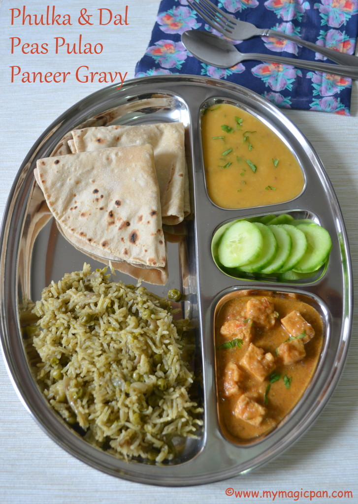 North Indian Lunch Menu - My Magic Pan