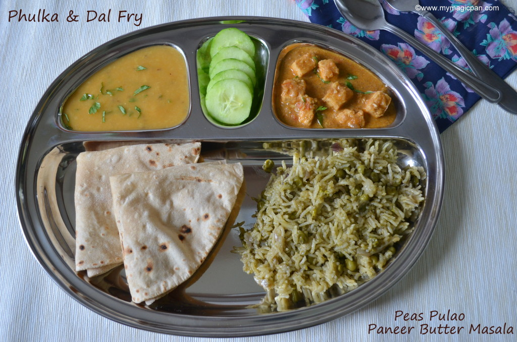 North Indian Lunch Menu My Magic Pan
