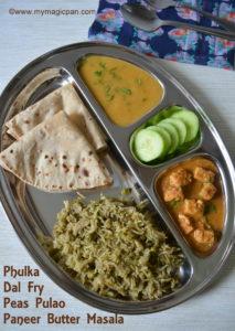 North Indian Menu - My Magic Pan