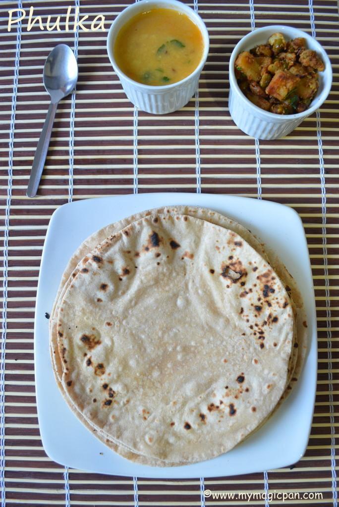 How to make Phulka My Magic Pan