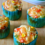 Pizza Muffin - Eggless Pizza Muffin