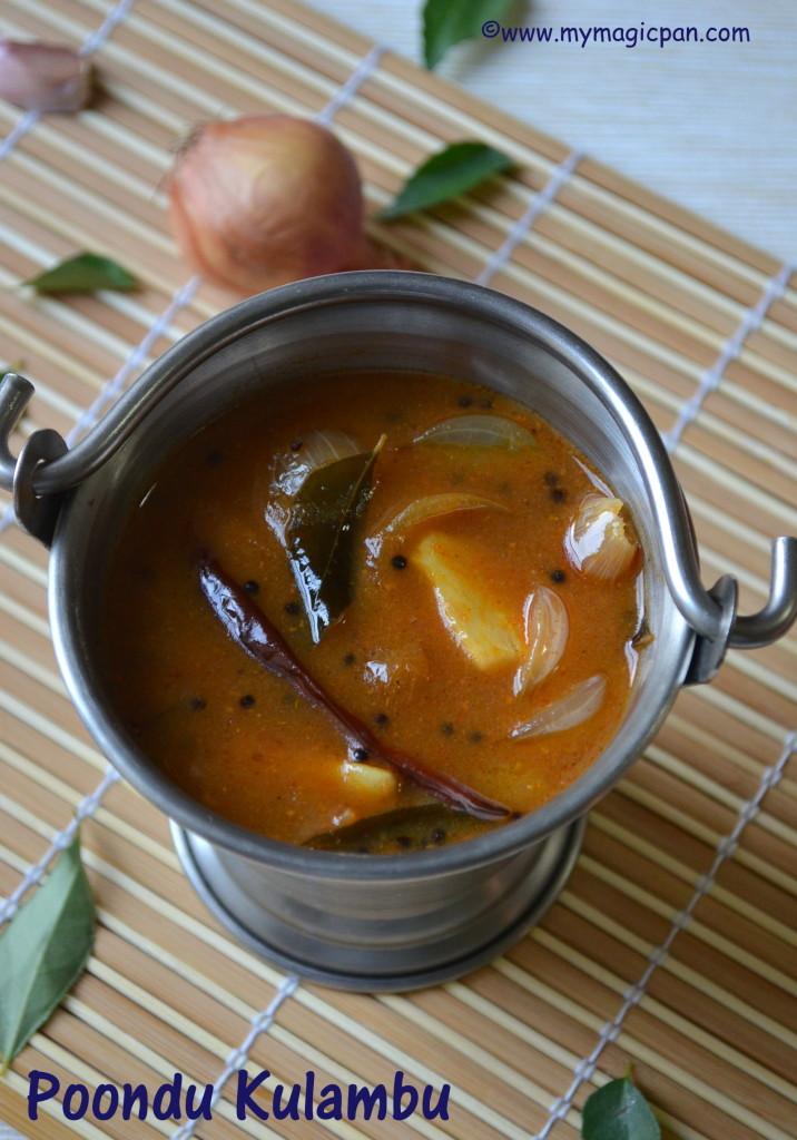 Poondu Kulambu My Magic Pan