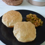 Poori - Puri - How to make puffy Poori