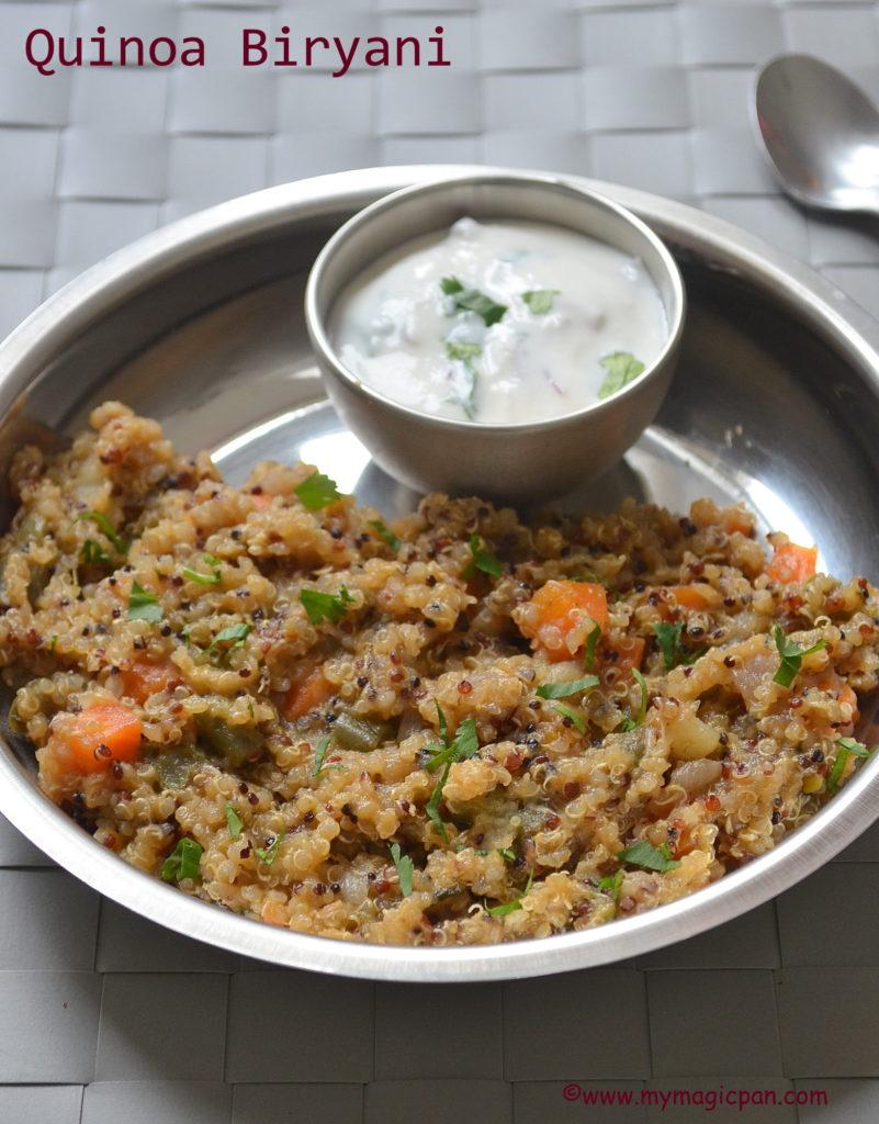 Quinoa Biryani My Magic Pan