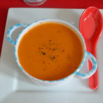 Red Capsicum Soup - Roasted Capsicum Soup