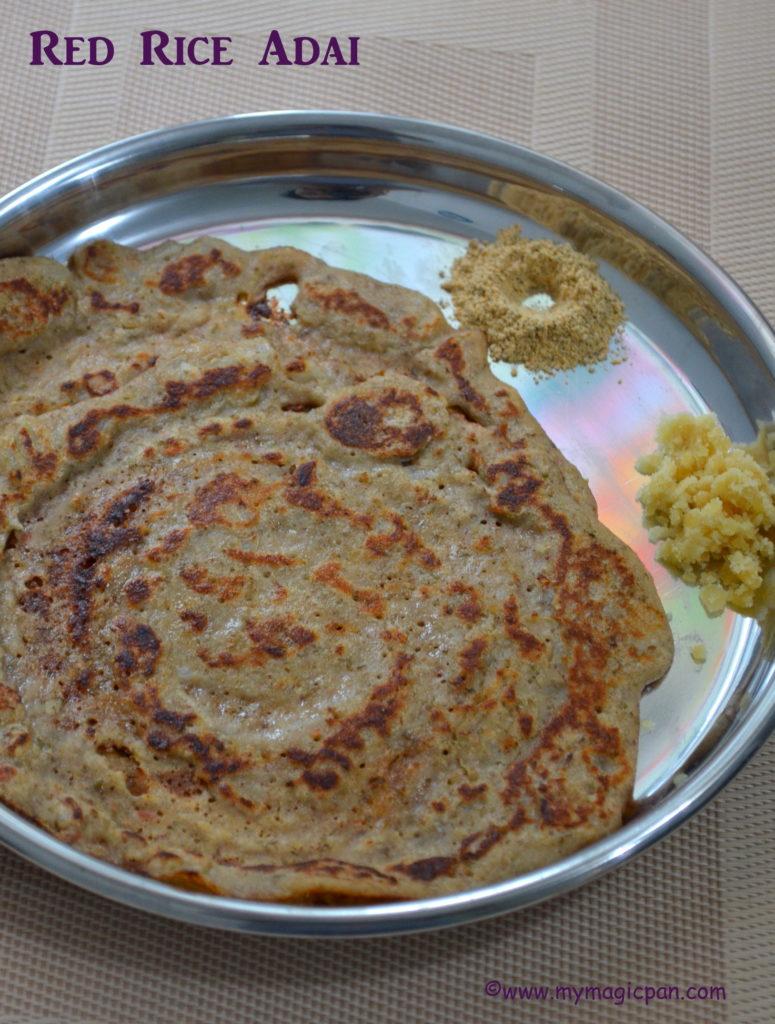 Red Rice Adai My Magic Pan