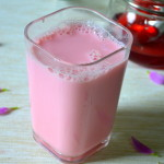 Homemade Rosemilk - With Homemade Rose Syrup