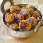 Spicy Baby Potato Roast - Small Potato Fry