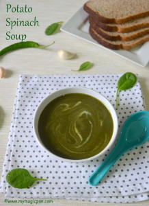 Spinach Potato Soup