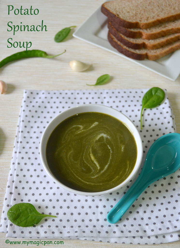 Potato Spinach Soup My Magic Pan