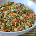 Sprouts Salad - Moong Sprouts Salad