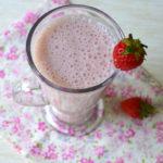 Strawberry Milkshake - Milkshake Recipes
