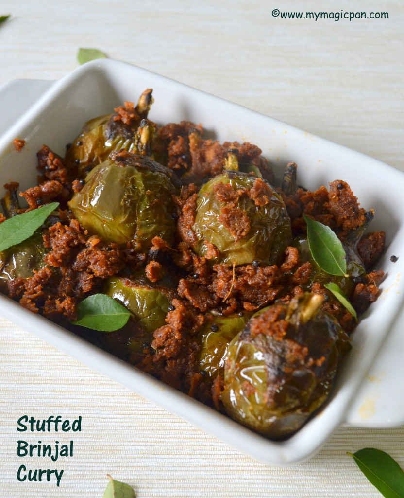 Stuffed Brinjal Fry My Magic Pan