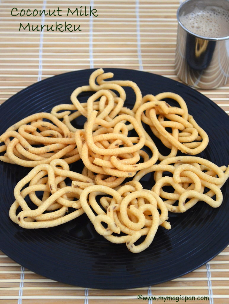 Coconut Milk Murukku My Magic Pan