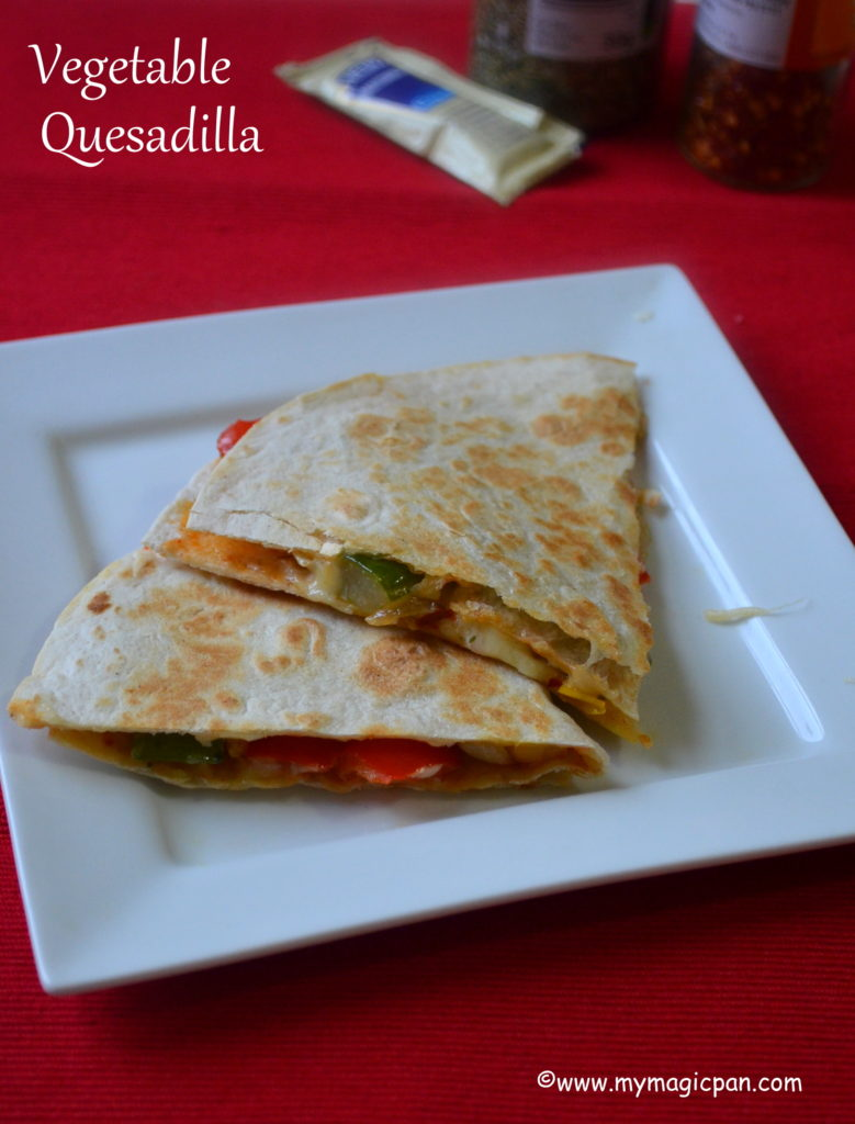 Veg Quesadilla My Magic Pan