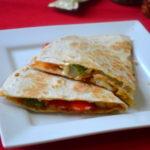 Veg Quesadilla - Vegetarian Quesadilla
