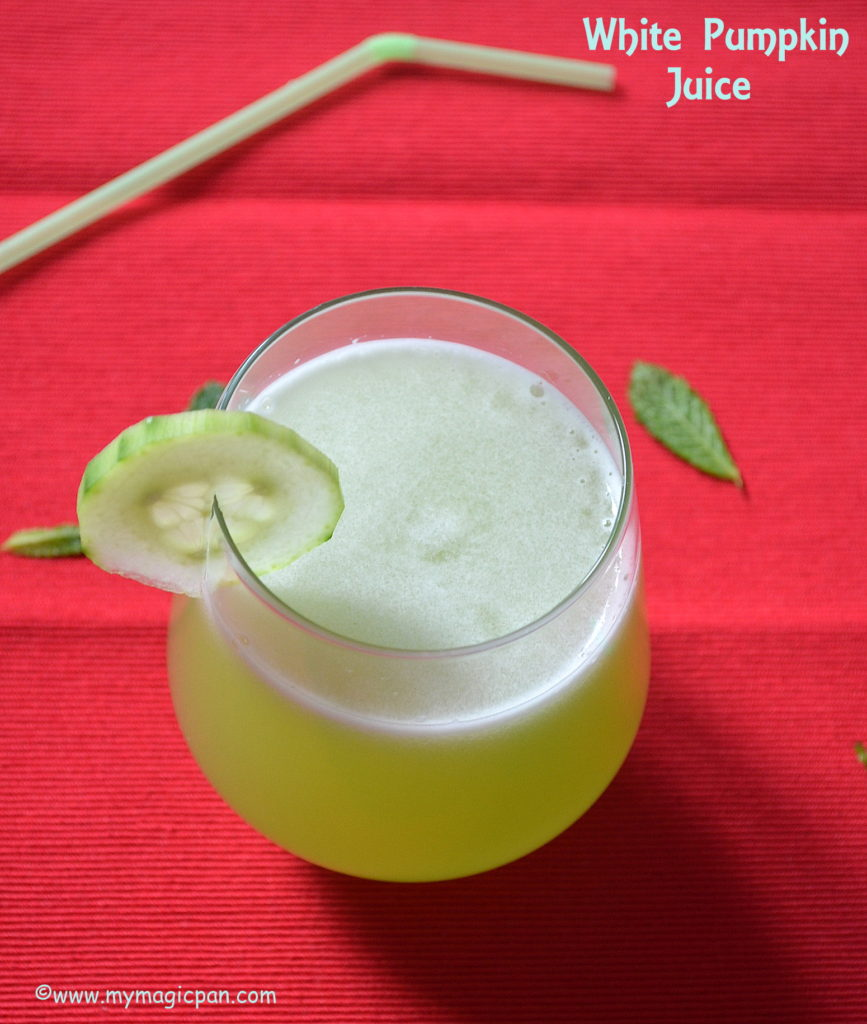 White Pumpkin Juice My Magic Pan