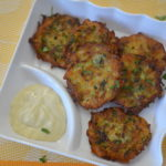 Zucchini Fritters - Courgette Fritters