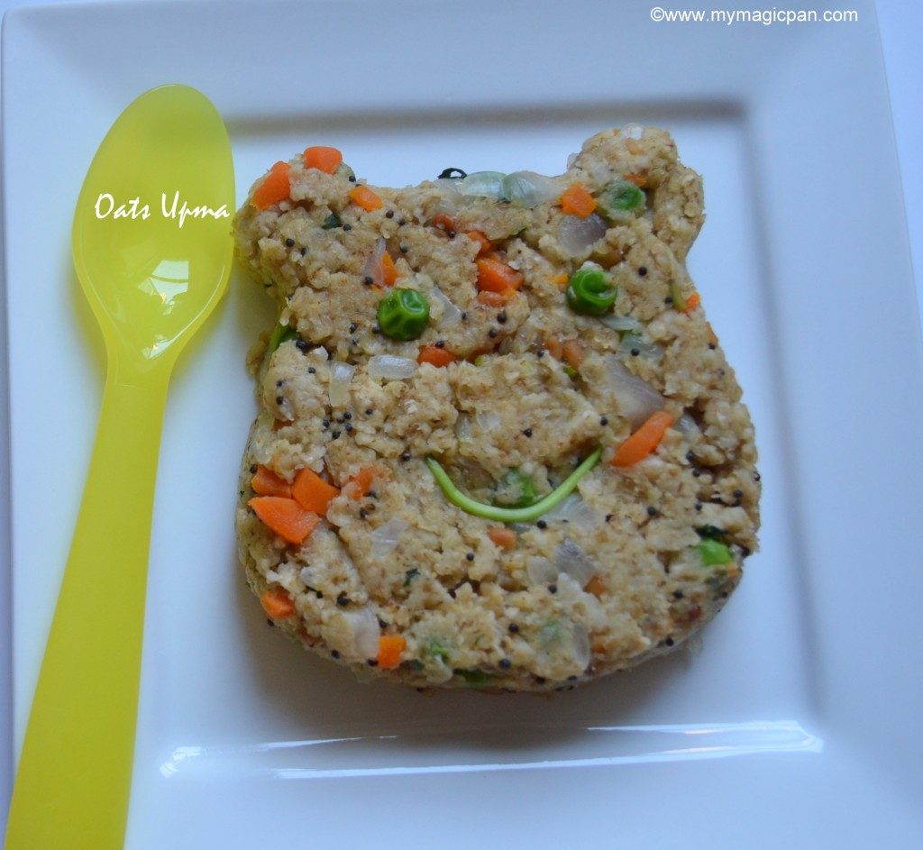 Oats Upma My Magic Pan