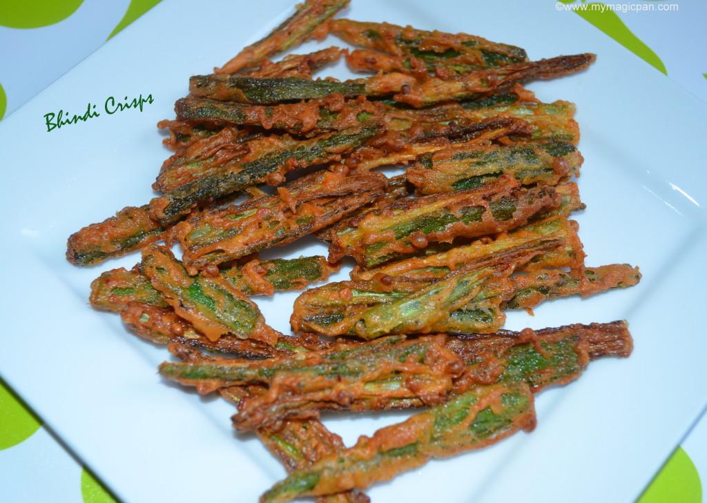 Bhindi Crisps