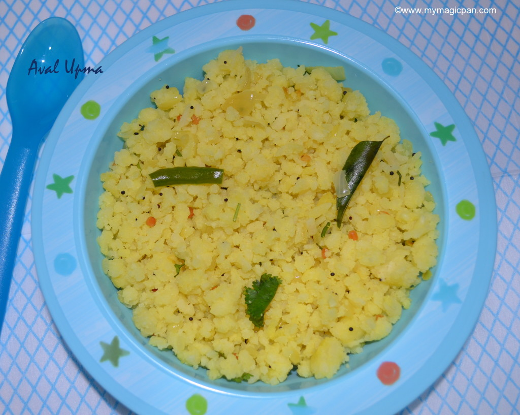 Aval Upma My Magic Pan