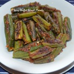 Spicy Stuffed Bhindi Masala