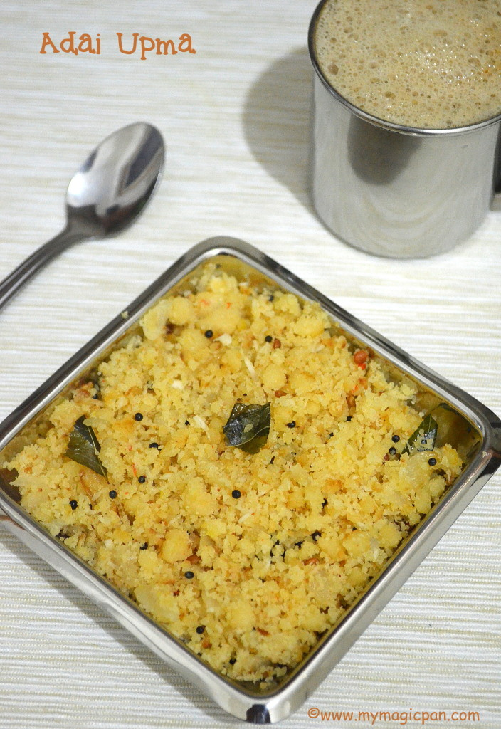 Adai Upma My Magic Pan